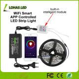 Kit de luz de tira LED RGB controlado por smartphone