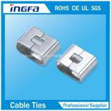 связь кабеля замка 12*250mm/15*250mm Ss Epoxy Coated o в высокой прочности на растяжение