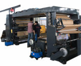 Machine d'impression de Flexo de couleurs des couleurs 4 du papier d'emballage de roulis quatre