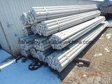 Aleación de aluminio Piezas brutas Roud Bar 6063 T5