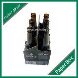Изготовленный на заказ печатание коробка пива 6 пакетов (FP020001)