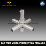 Angestrichener Cuplock vertikaler Standard für Baugerüst-Gebäude