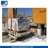 Cortador de pedra do bloco de processamento
