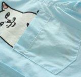 3 het Beeldverhaal van de kleur drukte Katoenen van 100% Jonge geitjes af Kleedt de Overhemden van de Jongen