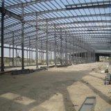 Estrutura pré-fabricada do metal para a construção do armazém