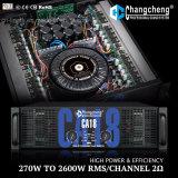 高い発電Ca18層2の専門の電力増幅器のクラスHシリーズ、2オームの馬小屋