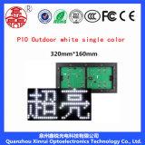 P10 al aire libre escogen la cartelera blanca de la pantalla de visualización del módulo del LED