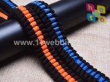 Webbing elástico de nylon do tirante com mola da trela do cão de animal de estimação para o produto do animal de estimação
