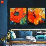 Картина маслом оттенков живейшего искусствоа цветков померанцовая