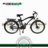 Bicyclette électrique avec le moteur sans frottoir arrière (SPC-005)