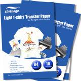 淡色の純粋な綿の基板のためのAwの品質の自己の除草A4のサイズライト熱伝達ペーパー