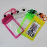 iPhone 7のための水証拠の携帯電話の袋5.5/4.7インチのケース