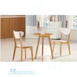 Madeira contínua popular que janta a cadeira para o café do restaurante (HW-CH04C)