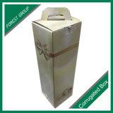 Carton ondulé rigide Carton simple en verre Boîte à vin