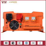 Inversor puro híbrido da onda de seno da fábrica de China do tipo de Yiy com construído no controlador solar da carga de MPPT