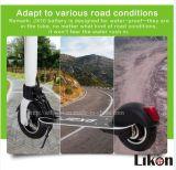 Motorino elettrico piegato veloce di nuovo arrivo di Likon in 500W, 48V/13ah, capienza duratura di 65km, buon socio della vostra vita di città, nuova scelta per il veicolo verde!