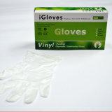 Luvas de plástico descartáveis para uso doméstico Luvas de vinil PVC, limpeza de casas Luvas de vinil