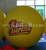 2mの直径のSphercialのK7068を広告するための膨脹可能なヘリウムの気球