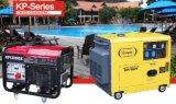 Diesel van de Lucht van de Reeks van Kanpor 5.0kw 50Hz /5.5kw 60Hz Kp6500sta Stille Geluiddichte Koele Draagbare Generator, Stille Generator