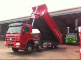 Dongfeng 33のトン6X4のダンプカートラックのユーロIV