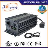 UL에 의하여 목록으로 만들어진 저주파 네모파 315W CMH 디지털 밸러스트는 점화 밸러스트를 증가한다