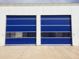 Промышленная дверь штарки завальцовки PVC высокоскоростная