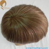 薄い皮のモノラル基礎人の毛の置換システム