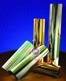 Tarjeta metalizada vacío colorido para empaquetar
