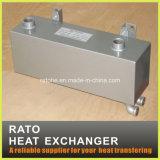 Теплообменный аппарат пробки стальной раковины ISO Approved