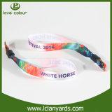 Wristbands ткани тесемки сатинировки для подарков празднества нот