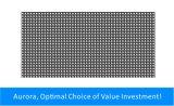 Module polychrome imperméable à l'eau extérieur d'écran de P6 DEL