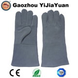 Gants protecteurs de main de soudure de sûreté de cuir fendu de vache