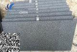 Étage de granit de noir de sésame personnalisé par G654
