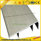 Maniglia di alluminio della cucina spazzolata OEM per l'armadio da cucina