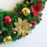 90cm van 2017 de Kroon van de Slinger van Kerstmis voor Decoratie