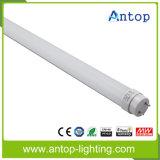 La más nueva luz del tubo de la eficacia alta 180lm / W T8 LED con 5 años de garantía