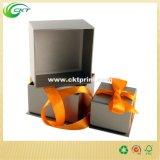 絹のリボン(CKT-CB-862)が付いている堅いギフト用の箱