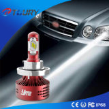 Mini farol super do diodo emissor de luz do poder superior da luz do carro 6000lm