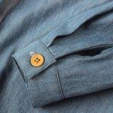 Camisas 100% de las muchachas del algodón para el resorte/el otoño