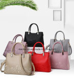 Beau cuir d'unité centrale de mode avec Madame Handbag de configuration de fleur