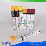 Emballage cosmétique Crème de couleur sèche-cheveux Onsert Aluminium Tube pliable