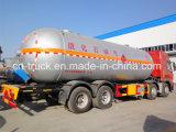 China Boa qualidade 35cbm 15mt HOWO 8X4 LPG Gas Delivery Tank Truck