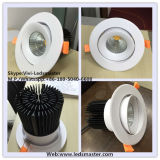 diodo emissor de luz Recessed 220V Downlight do CREE 15W