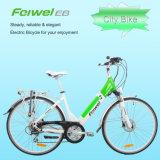Popular Etapa-Através da E-Bicicleta do frame aberto com a bateria da liberação rápida