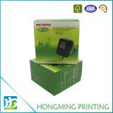 A impressão de Hongming projeta a caixa de papel de empacotamento de dobramento da cor