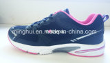 Ботинки удобного горячего надувательства людей вскользь, ботинки спорта для женщин