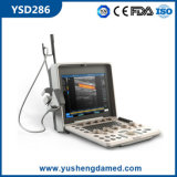 Ultrasonido portable Sscanner de Doppler del color Ysd286