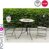Vector y sillas del mosaico usando para los muebles al aire libre