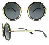 Óculos de sol do tipo das melhores mulheres da forma da promoção dos vidros de Sun do desenhador