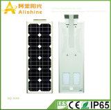 Nuevo 40W 5 años de garantía LED todo en luces de una calle solares con el regulador elegante